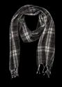 Woolen Ladies Check Mufflers, Size: 120-175 Cm