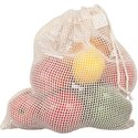 Cotton Certified Mesh Net Fruit Bags Cotton Mesh Bag for Produce Bag