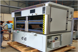 Leak Testing and Laser Marking Machine