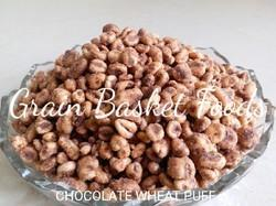Indian FIT FOODIE Chocolate Puffed Wheat, No Preservatives