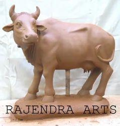 Fiber Cow Statues