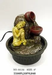 Gift City Buddha Fountain, For Home Decor