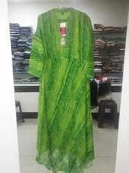 Long Green Color Kurta