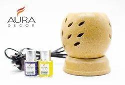 AuraDecor Electric Burner and Aroma Oils