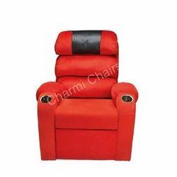 Orange Auditorium Chair
