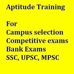 Aptitude Training For Campus, Competitive Exams, Banking Exams, Mba Entrance
