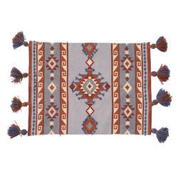Ethnic Printed Embroidered Rug