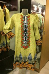 Najwa Embroidery Dress Material