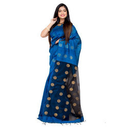 Ladies Handloom Matka Silk Saree