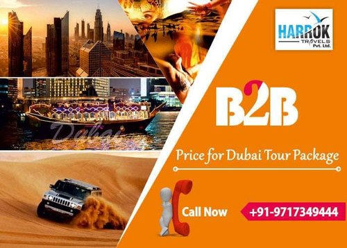 Dubai Visa B2B in Delhi 5600/- Harrok Travels in Rohini, New