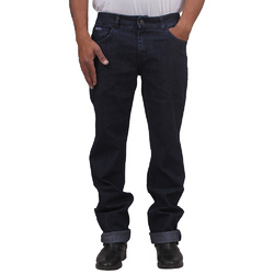 Mens Denim Stretchable Indigo Plain Jeans, Size: 32-34