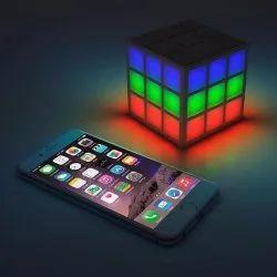 Magic Cube Wireless LED Bluetooth Speaker