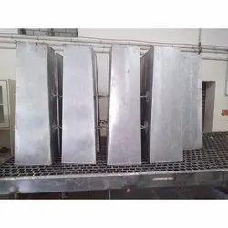 Rectangular Bold Crystal Aluminium Boxes