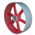 Split Type Flat Belt Pulley