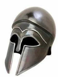 Antique finish Mild Steel Corinthian Helmet