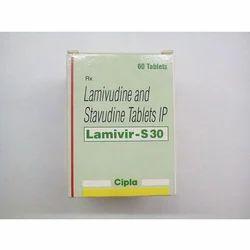 Lamvir S Tablets Lamivudine & Stavudine