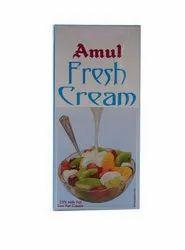 Amul Fresh Cream 1 Litr MRP 192rs/ selling price 180 rs/