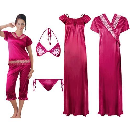 ee11b2cc6d Ladies 6 Piece Night Dress