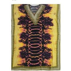 Animal Printed Kaftan Fabric