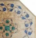 Marble Inlay Coffee Table Top