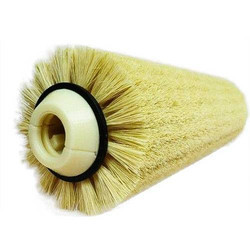 Textile spinning Comber Brush In 2 half In Plastic Material