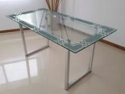 Printed Glossy Designer Glass, For Home, Thickness: 0.5 To 5 Mm