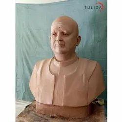 Tulica Fiber Decorative Statue, For Interior Decor