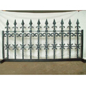 Modern Cast Iron Railing