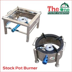 The One SS Stock Pot Burner