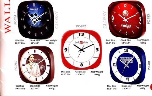 Bella Home Decor Plastic Wall Clock At Rs 150 Piece Shahdara