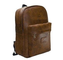 Laptop Backpacks (Brown) By ZNT BAGS