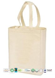 Fair Trade Organic Cotton Canvas Beach Bag