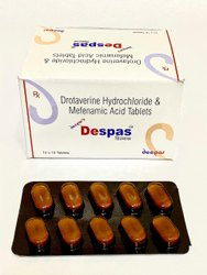 Drotaverine Hydrochloride and Mefenamic Acid Tablets