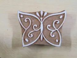 Butterfly Pattern Wooden Printing Blocks