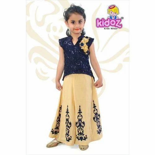 30b6596e5 Girls Kids Long Skirt And Top, Rs 690 /piece, R.R. Creation   ID ...