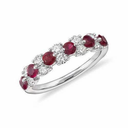 a86c0a53fe8 Ruby Diamond Bangle, रूबी के कंगन, रूबी बैंगल ...