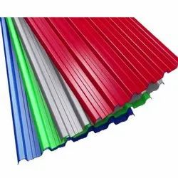 Gi Color Coated Corrugated Roofing Sheet
