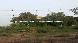 Solar Powered Elephant Fencing