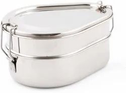 Stainless Steel Double Decker Bento Lunch Box