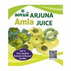 Sovam Arjuna Amla Juice
