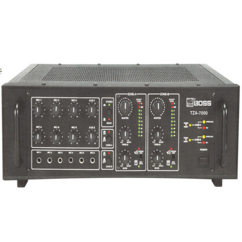 700 Two Zone PA Mixing Amplifier, TZA-7000 | ID: 4820781530