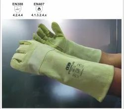 Weldplus Split Leather Gloves