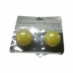 Crompton Yellow LED Bulb