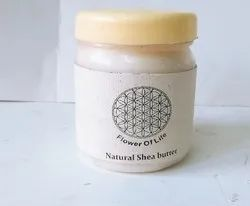 Flower Of Life Natural Shea Butter, Pack Size: 100 gram