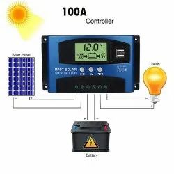 Solar Charge Controller For Small DC Home Lighting System