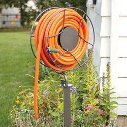 Vertical Swiveling Hose Reel