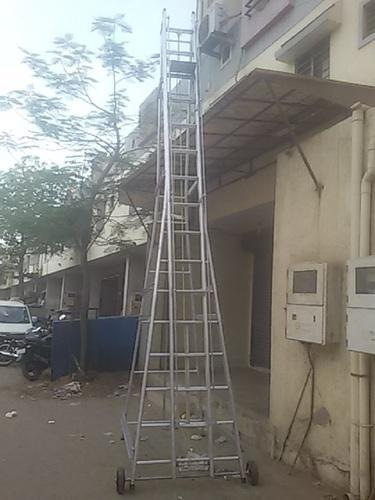 Aluminium Ladders Aluminum Square Type Tower Ladder Manufacturer From Ahmedabad