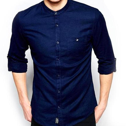 2fd44c34e4 Navy Blue 42 Mens Shirt, Rs 350 /piece, Blue Wings Appearls | ID ...