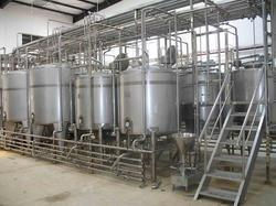 Automatic Dairy Processing Plant