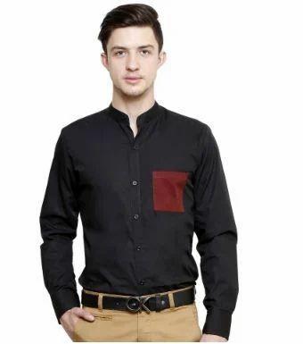 824faeda033 Black Smart Casual Shirt at Rs 750  piece